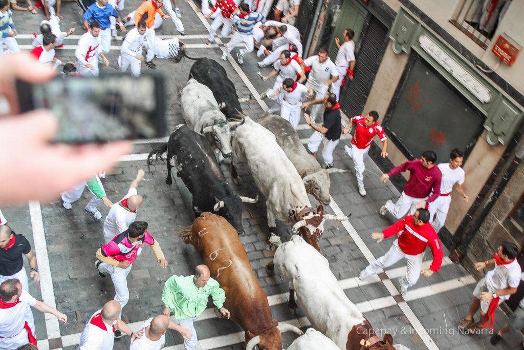 San Fermín. Encierro de Pamplona