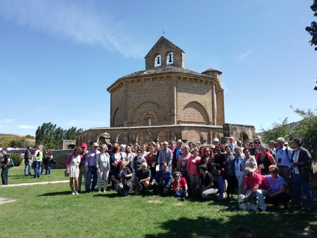 Excursiones Navarra. Ermita de Eunate.