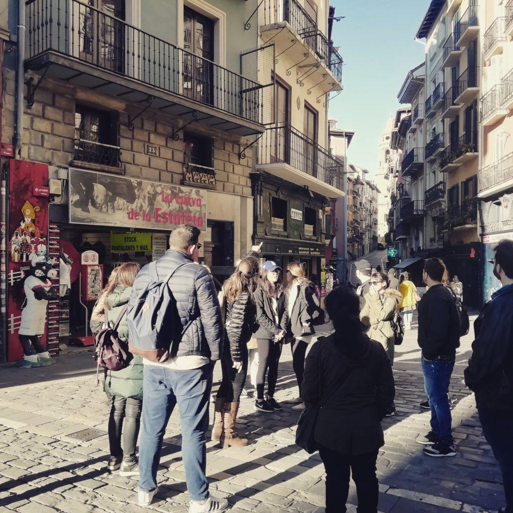 Pamplona walking tours